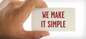 We Make It Simple